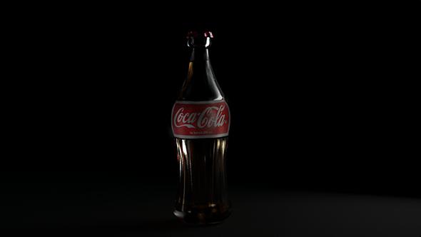 Coca-Cola bottle  - 3DOcean Item for Sale