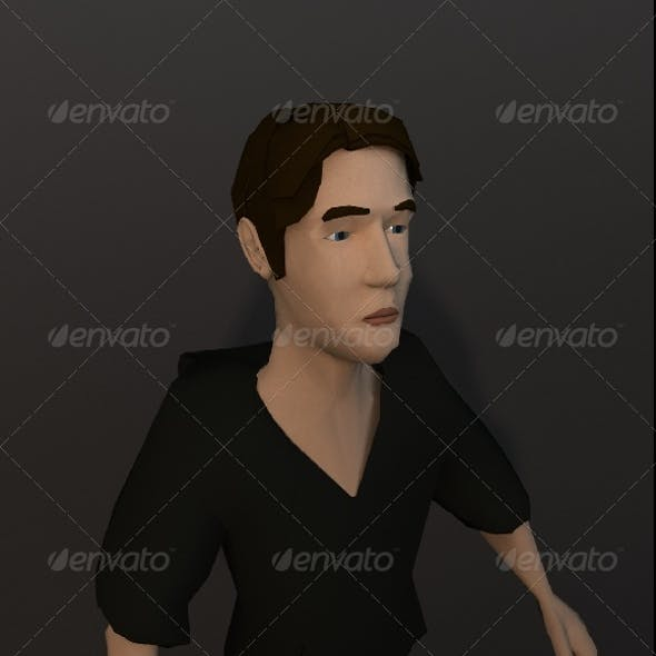 Base Cartoon Human Character