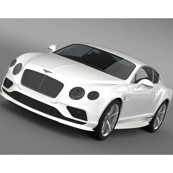 Bentley Continental GT Speed 2015 - 3DOcean Item for Sale