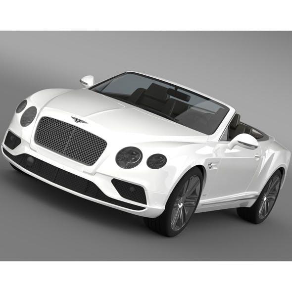 Bentley Continental GTC 2015 - 3DOcean Item for Sale