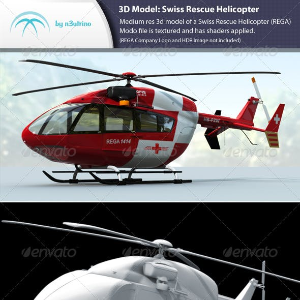 Swiss Rescue Helicopter