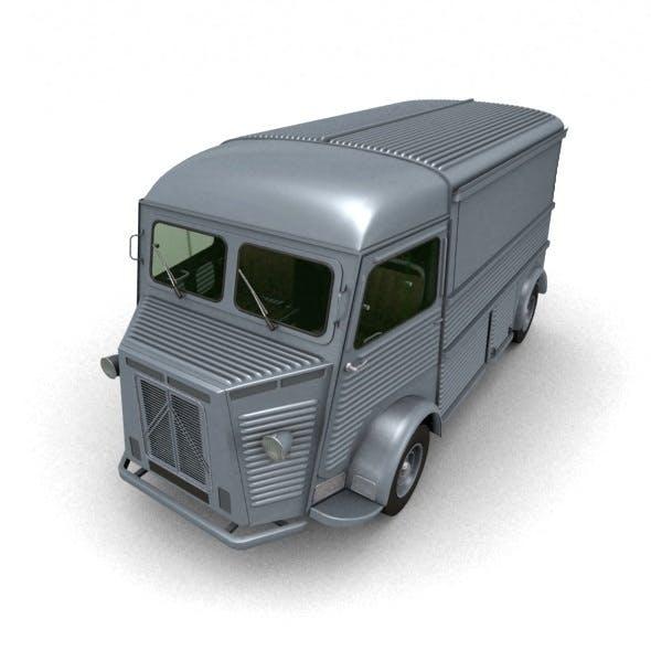 Citroen Type H Van 1948 - 3DOcean Item for Sale