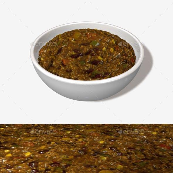Chili Seamless Texture