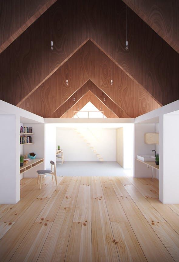koya no sumika house - 3dsmax 2010 vray 2.0 - 3DOcean Item for Sale