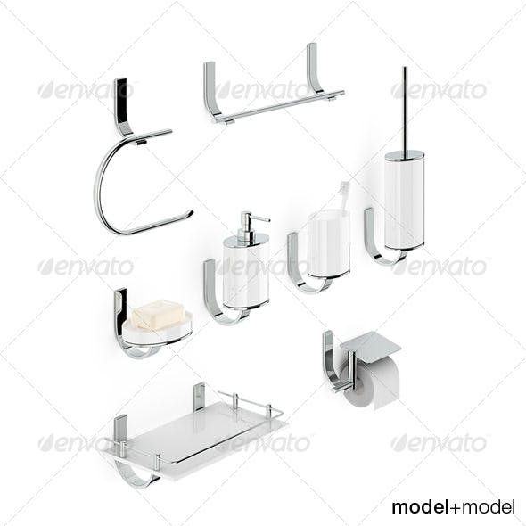 Bath accessories Newform Base - 3DOcean Item for Sale