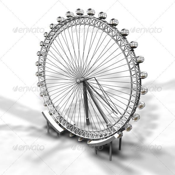 London Eye - 3DOcean Item for Sale