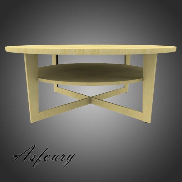 Ikea Vejmon Table - 3DOcean Item for Sale