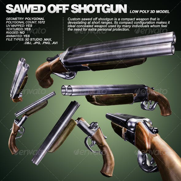 Custom Sawed Off Shoot-Gun