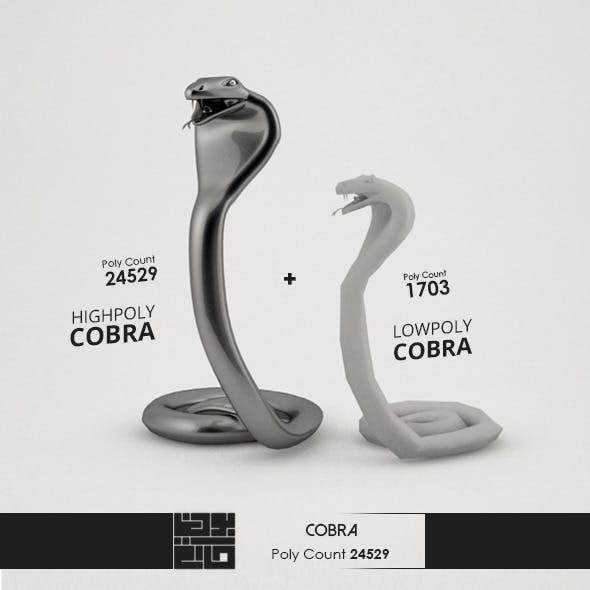Cobra 3D Model - 3DOcean Item for Sale