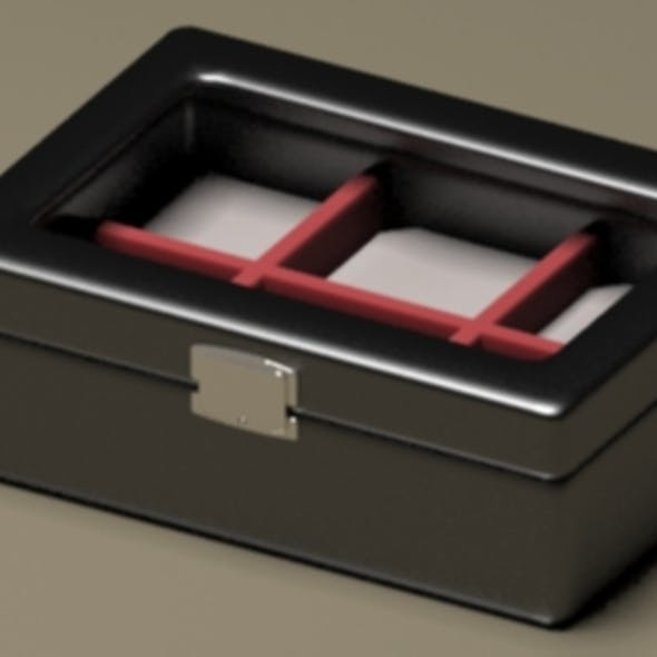Modern Luxury Lather Jewelry Box