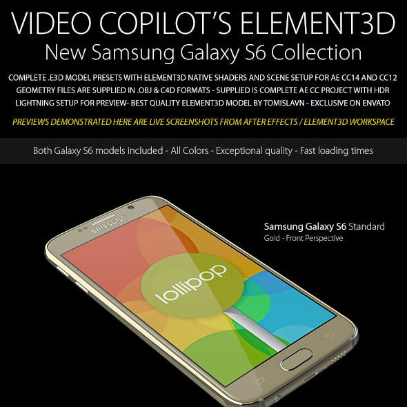 Element3D - Samsung Galaxy S6 Collection