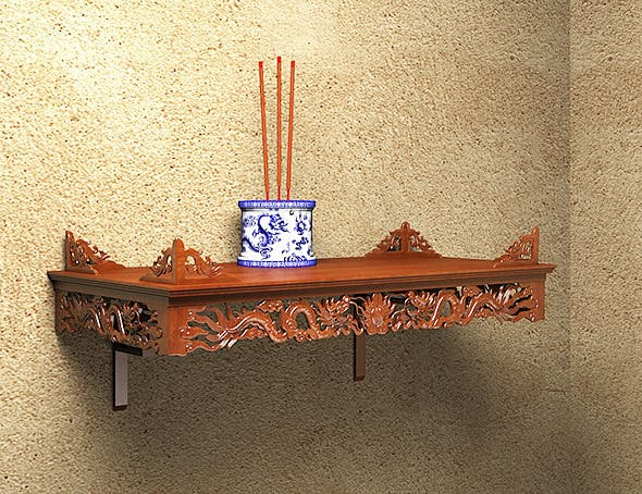 Dragon asia alter - 3DOcean Item for Sale