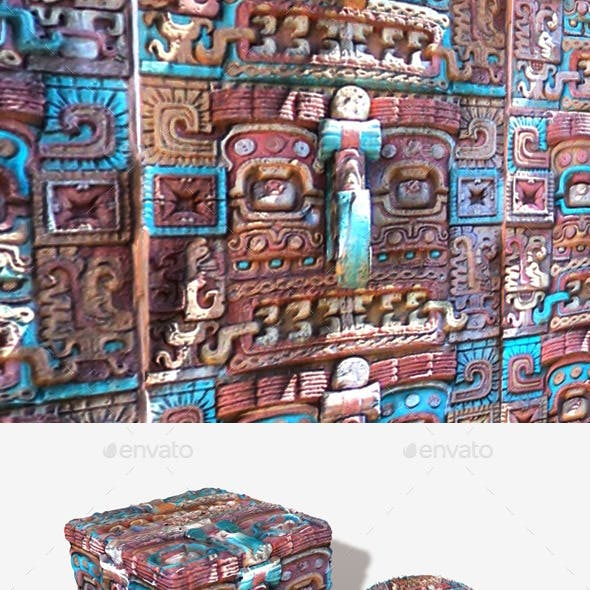 Mexican Carving Seamless Texture