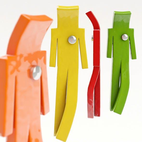 CoatHook - 3DOcean Item for Sale