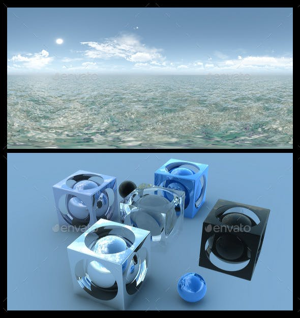 Tropical Water HDRI - 3DOcean Item for Sale