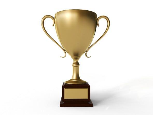 Golden Trophy - 3DOcean Item for Sale