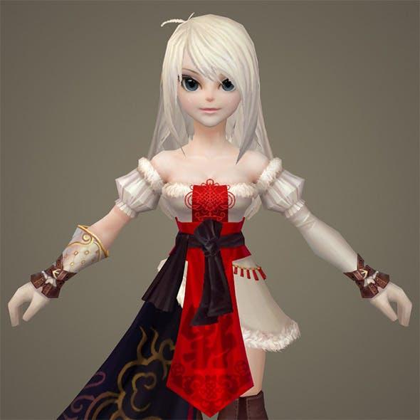 Toon character Eli - 3DOcean Item for Sale