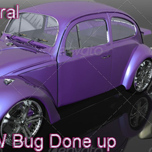 1974 VW Bug Done Up