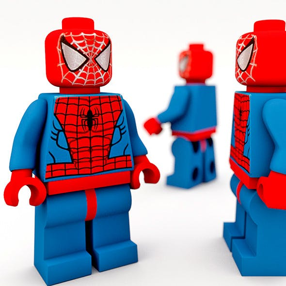 Lego spiderman - 3DOcean Item for Sale