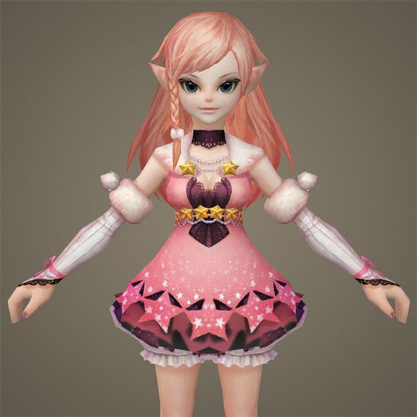 Toon character Kaitki