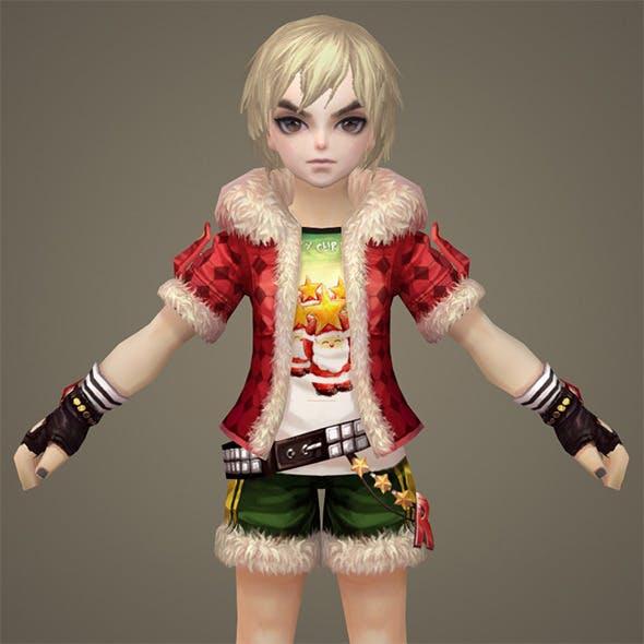 Toon character Krishten - 3DOcean Item for Sale