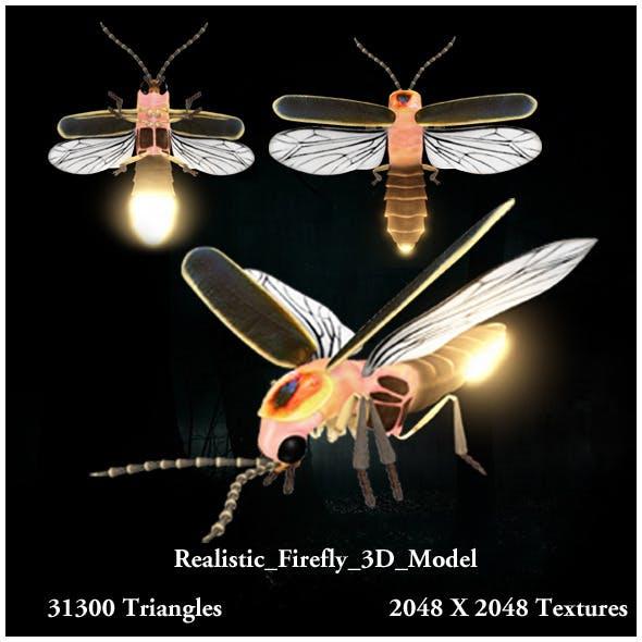 Realistic Firefly 3D Model