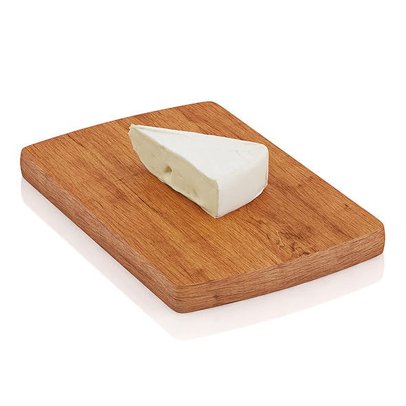 Cutted brie cheese