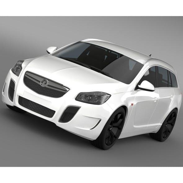Vauxhall Insignia VRX Sports Tourer 2013