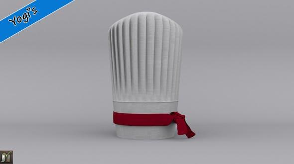 Chef cap - 3DOcean Item for Sale