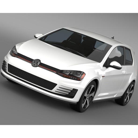 VW Golf GTI 3door 2015