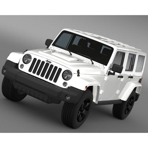 Jeep Wrangler Black Edition 2 2015