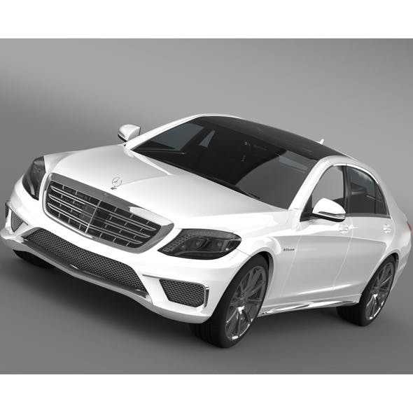 Mercedes Benz S 65 AMG W222 2014 - 3DOcean Item for Sale