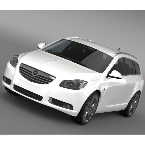 Opel Insignia BiTurbo Sports Tourer 2013 - 3DOcean Item for Sale