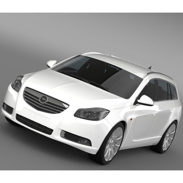 Opel Insignia Turbo 4x4 Sports Tourer 2013