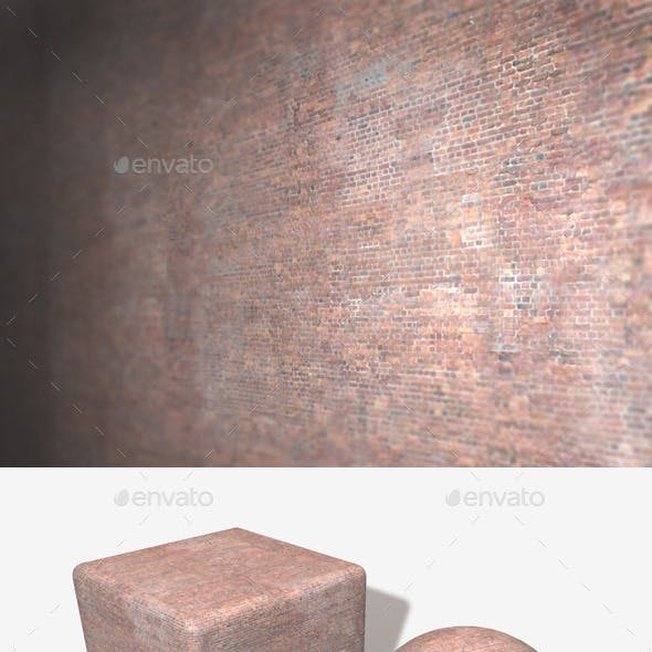 Tiny Brick Building Seamless Texture