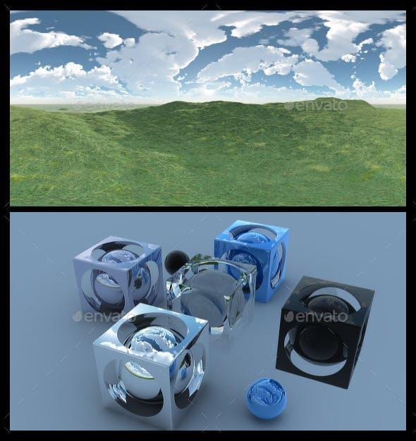 Open Grass Field 2 - HDRI - 3DOcean Item for Sale