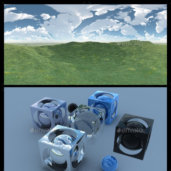 Open Grass Field 2 - HDRI