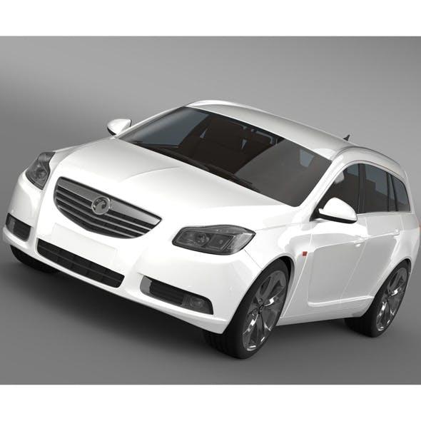 Vauxhall Insignia 4x4 BiTurbo Sports Tourer 2013