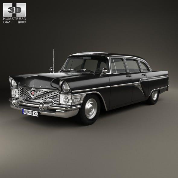 GAZ 13 Chaika 1959 - 3DOcean Item for Sale