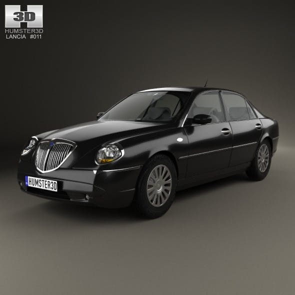 Lancia Thesis 2002 - 3DOcean Item for Sale