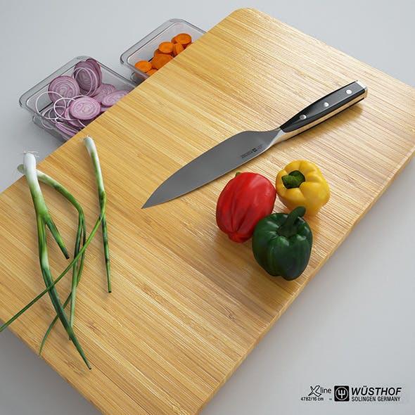 Slice Board - 3DOcean Item for Sale