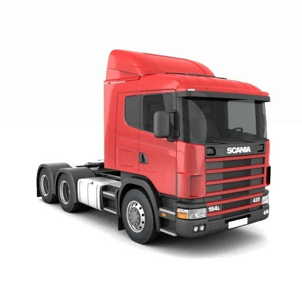 Scania R420 without trailer - 3DOcean Item for Sale