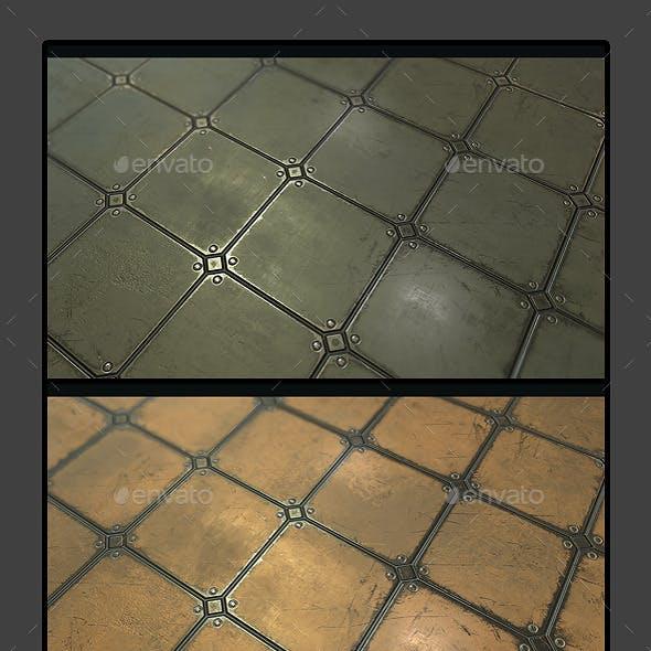 Metal Plate Tile 03