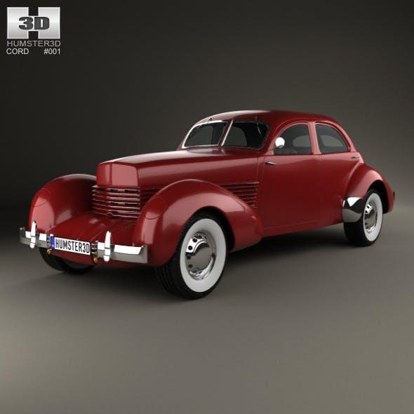 Cord 810 Westchester sedan 1936 - 3DOcean Item for Sale