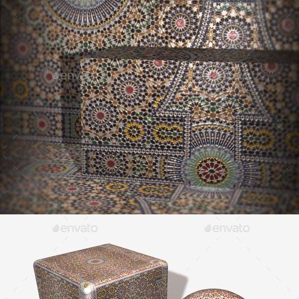 Moroccan Tiles Seamless Texture