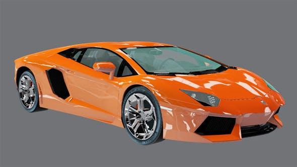 Element 3D Exotic Sport Coupe 3D Car - 3DOcean Item for Sale
