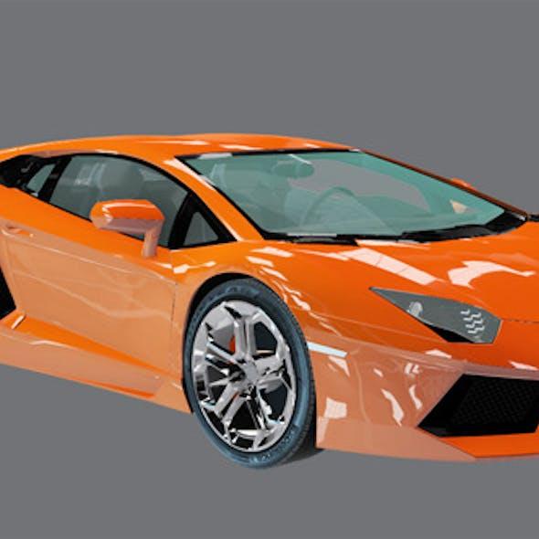 Element 3D Exotic Sport Coupe 3D Car