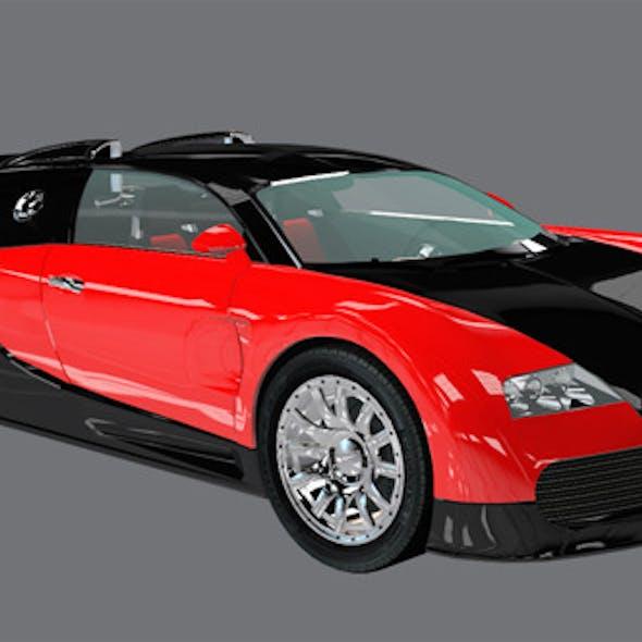 Element 3D Exotic Supercar 3D Car