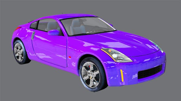 Element 3D Sport Coupe 3D Car - 3DOcean Item for Sale