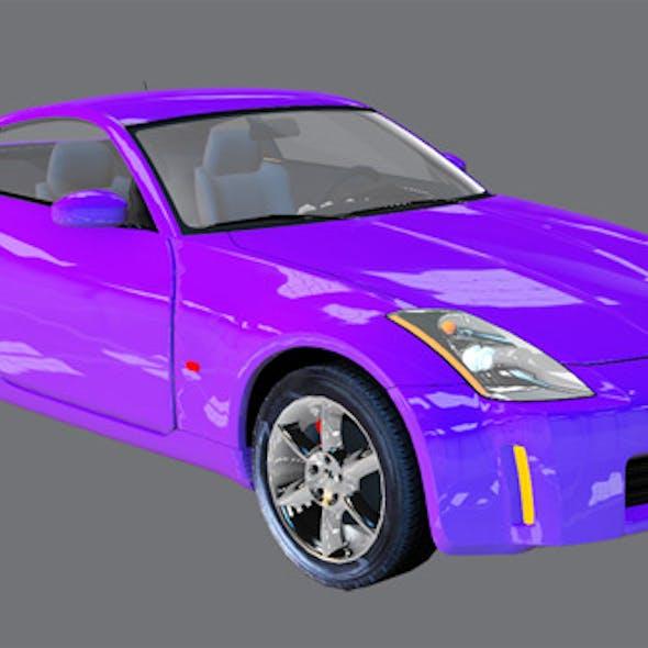 Element 3D Sport Coupe 3D Car